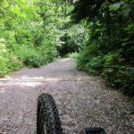 steile Abfahrt nach dem Loorenkopf