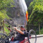 Wasserfall im Steilstück