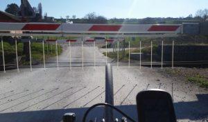 Warten auf der CH-Radroute2 Rheinroute