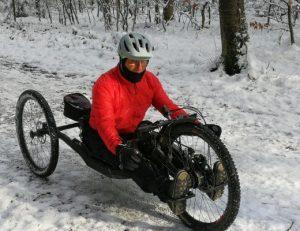 Handbiken im Winter