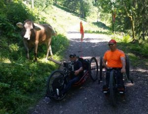 Oberstorf mit Dieter und Kuh